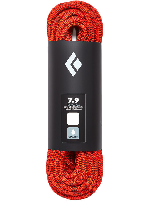 Black Diamond 7.9 Dry - Corde d'escalade - 60m orange